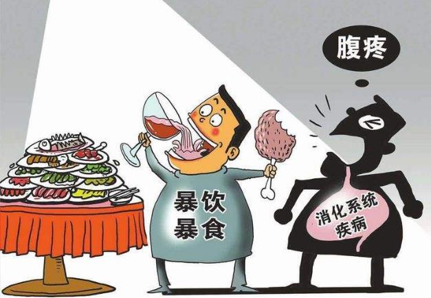 吃得太饱的危害易得十种病 细嚼慢咽,常吃八分饱,延年又益寿