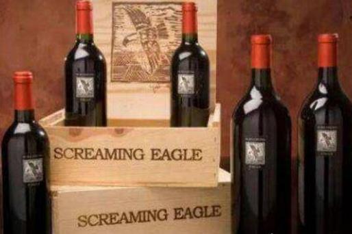 世界上5瓶最贵葡萄酒排名,1992年份啸鹰赤霞珠葡萄酒50万美元!