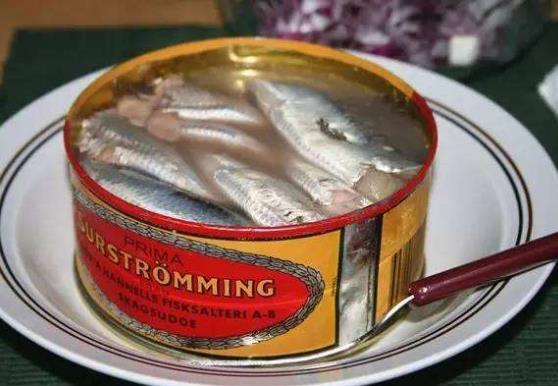 全球三大最臭美食 TEXMEX的臭是狐臭(腋臭) 瑞典腌鲱鱼是恶臭