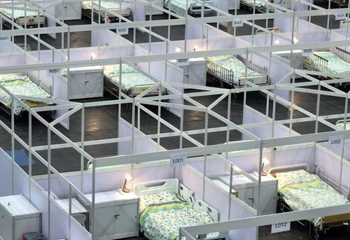 """""""港版方舱医院""""正式启用 内景曝光,香港疫情为什么一下子爆发?"""