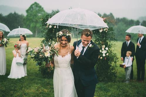 结婚下雨预示离婚是真的假的